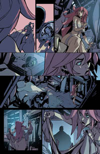 Battle Chasers comic #10 teaser page 3 by Ludo Lullabi